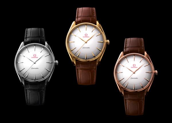 欧米茄(OMEGA) 呈现三款全新海马奥运会系列金款腕表