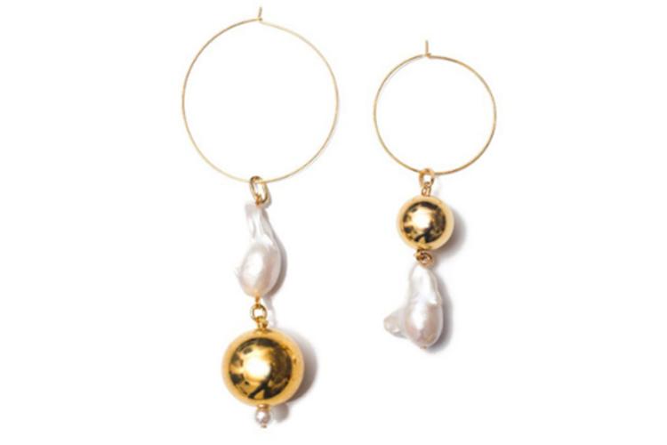 我们洋气着呢! 设计现代感的珍珠饰品合集