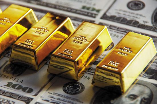 黄金空头获得强化 今天金价高位驻守