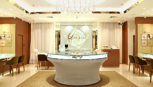 钻石品牌Love & Co. 中国首家专卖店正式入驻深圳九方购物中心