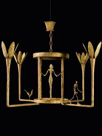 贾柯梅蒂设计的吊灯亮相伦敦苏富比 估价600英镑起