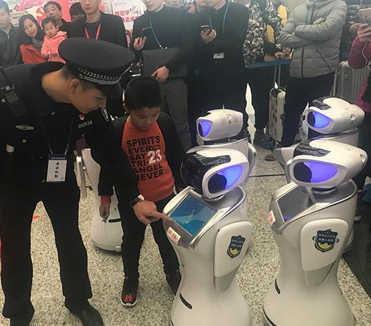 机器人警察编队 集多功能于一身