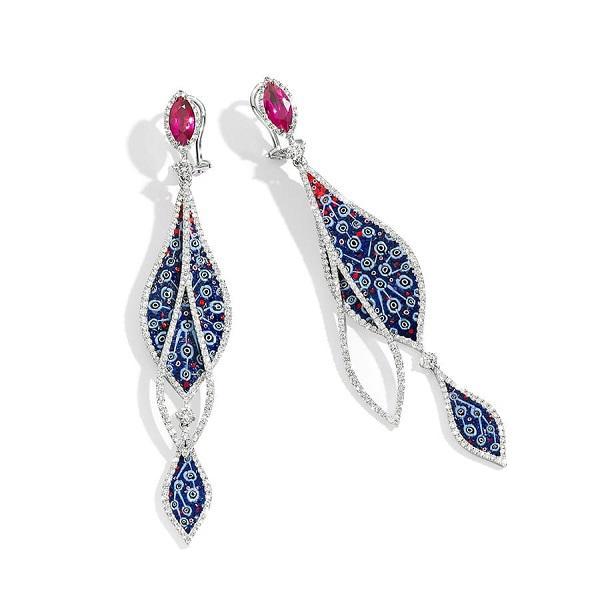 意大利珠宝商推出珠宝作品宝石点缀尽显异域风采