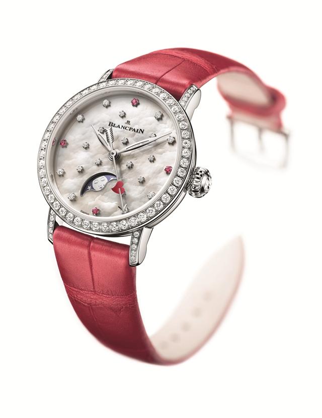 宝珀Blancpain推出甜蜜热烈的女士腕表