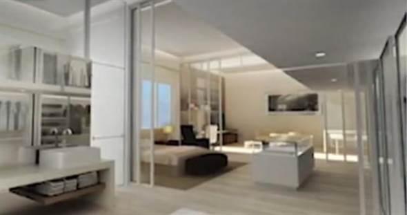 林青霞豪宅内部照曝光 能清楚看见明亮的卧室