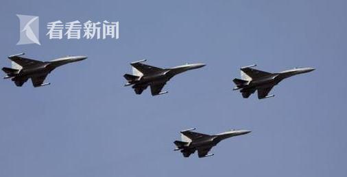 中国空军公开苏35 最大飞行速度为2500公里/小时