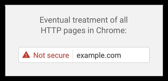 HTTP遭谷歌抛弃 7月起Chrome将全部标示为不安全