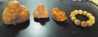 我收藏的黄杨木雕和尚摆件