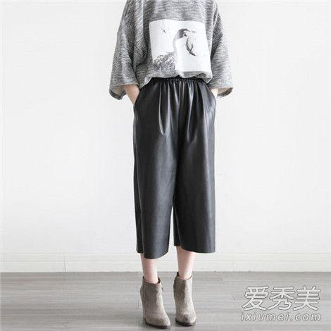 小个子穿阔腿裤好看吗 版型选择很重要!