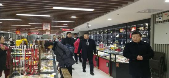 国家林业局对大唐西市古玩市场进行了全面检查