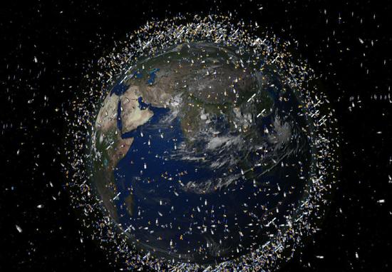 地球轨道沦为垃圾场 能回收再利用吗?