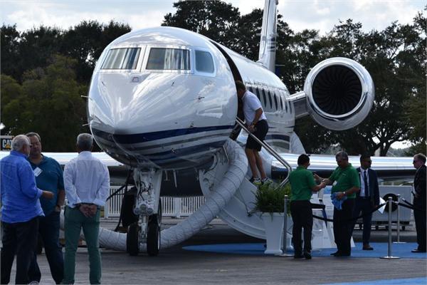 """中国富豪买私人飞机最爱""""湾流"""" 湾流已交付300架G650喷气机"""