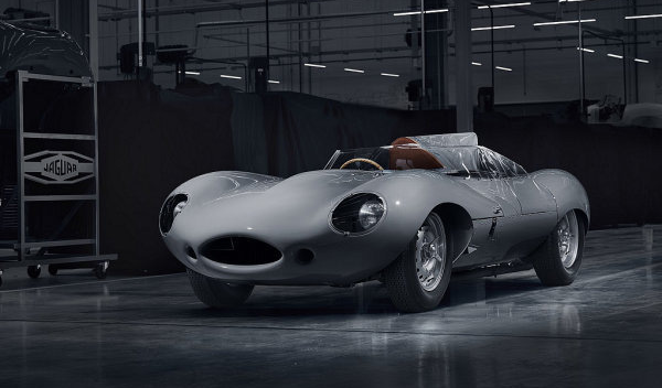 Jaguar重新打造25辆的D-Type 经典元素被完整重现在复刻版新车上