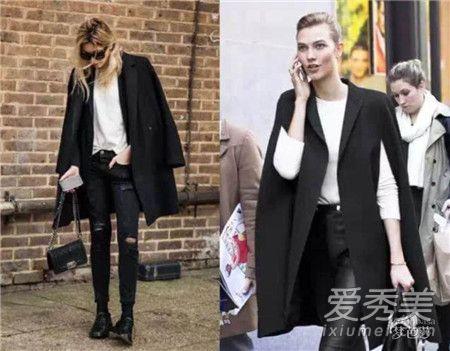 黑色大衣配什么裤子 黑色大衣配灰色裤子显得很高级