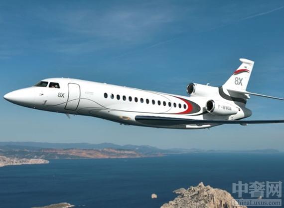 猎鹰8X喷气私人飞机 在公务飞机领域具有相当高的地位