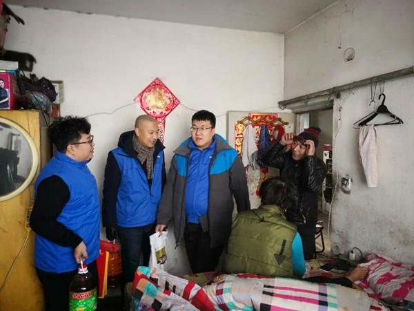 黑龙江新华保险慰问客户
