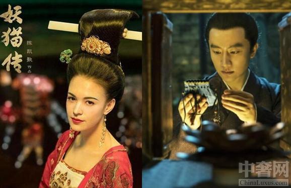 """《妖猫传》贵妃不懂""""步摇"""" 张榕容和刘昊然等演员在其中有着非常精彩的表演"""