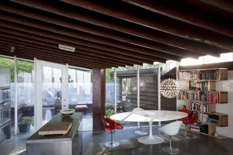 Lautner豪宅:用当代的角度对20世纪60年代的室内设计致敬