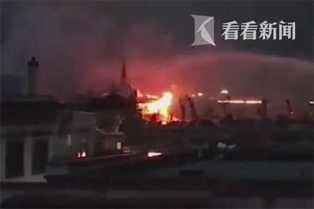 拉萨大昭寺着火 火势较大金顶或受损