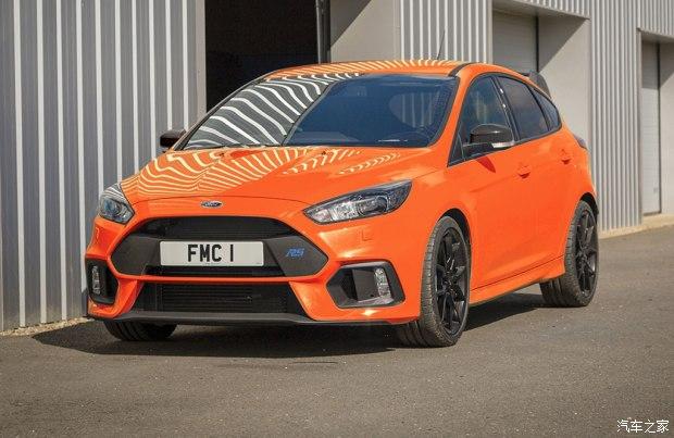 福克斯RS限量版官图 将在4月6日正式结束第三代福克斯RS车型的生产工作