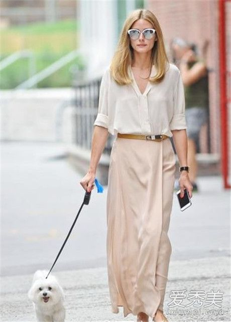 半身长裙怎么搭配好看 大衣+长裙层叠穿法最时尚