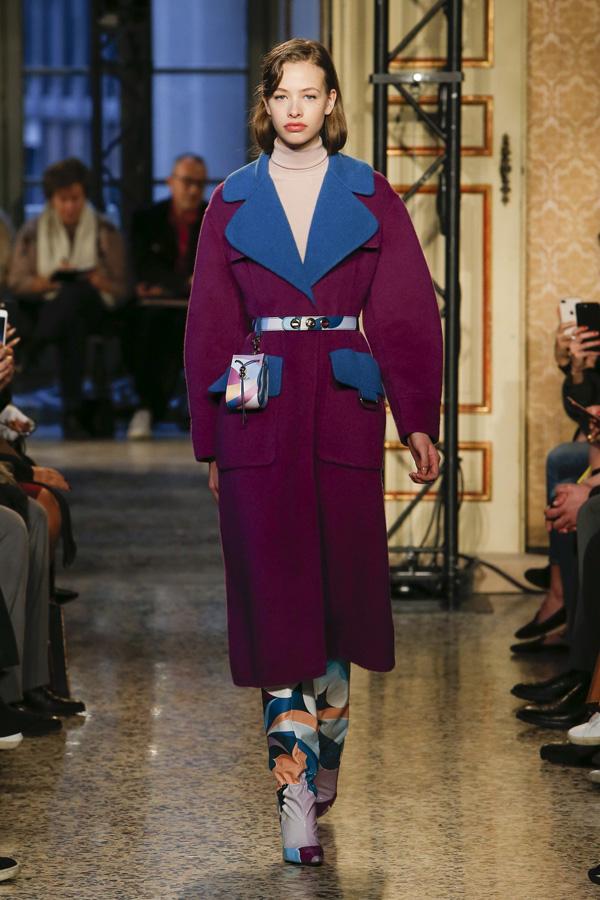 Emilio Pucci(璞琪)于米兰时装周发布2018秋冬系列高级成衣