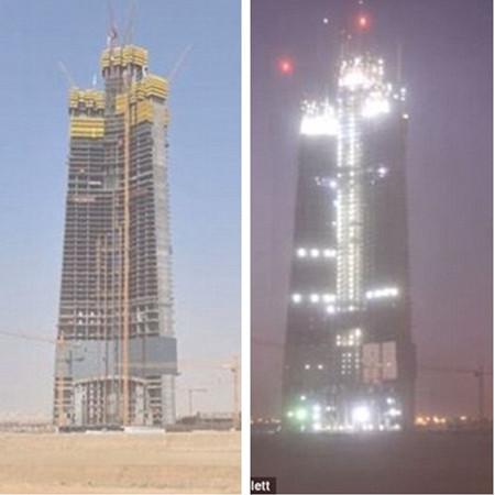 沙特首富造第一高楼 828米的迪拜哈利法塔