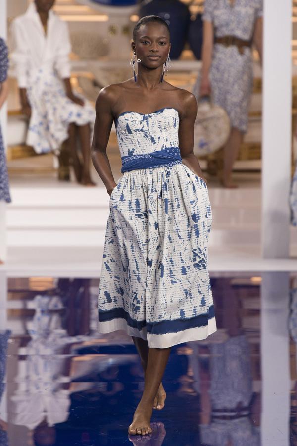 Ralph Lauren(拉夫·劳伦)于纽约发布2018春夏系列高级成衣时装秀