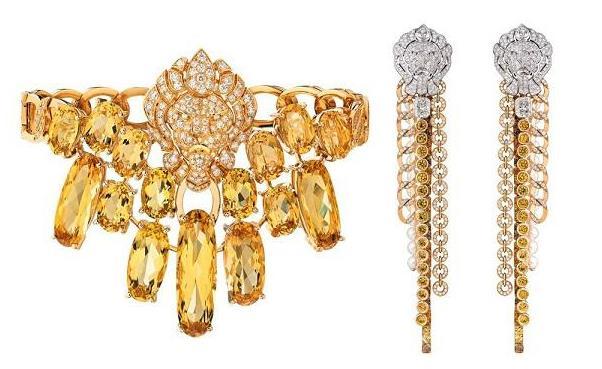 香奈儿推出新一季高级珠宝 运用颜色明快的橙色系宝石