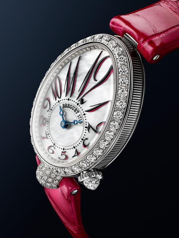 宝玑Reine de Naples那不勒斯王后系列推出迷你腕表