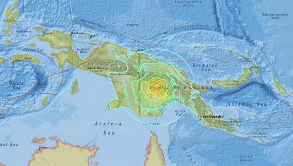 巴新地震最新消息:巴新发生7.5级强震 已致10人遇难