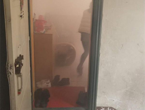十堰楼房液化气发生泄漏 3岁幼童被困屋内