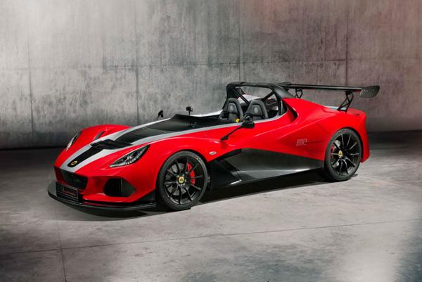 路特斯(Lotus)2018推出新一代速度机器3-Eleven 430