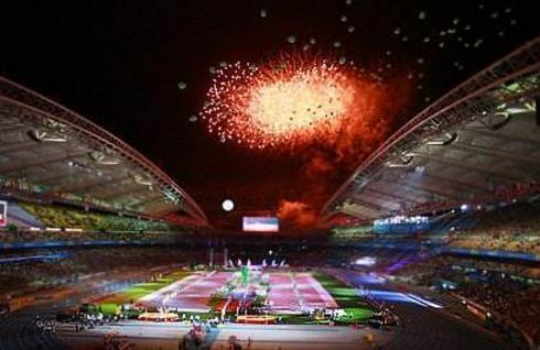 平昌冬奥会闭幕 2022北京欢迎你