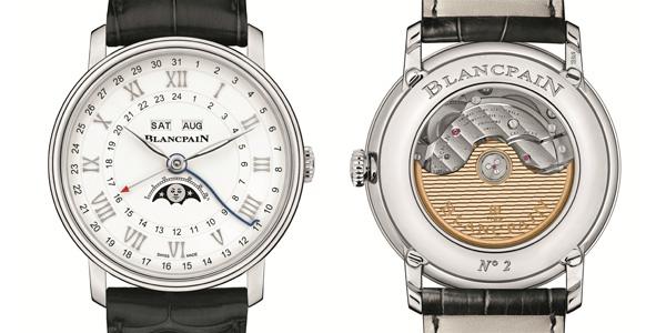 宝珀重磅推出全新两地时全历月相腕表