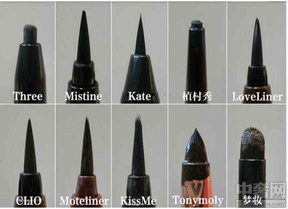 10款常见眼线笔测评 看看哪一款适合自己