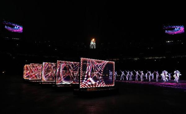 冬奥会正式进入北京周期 8分钟展现了更加自信的中国力量