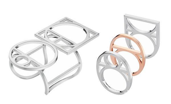 爱马仕推出了新一季珠宝系列 银饰品拥有醒目的视觉张力