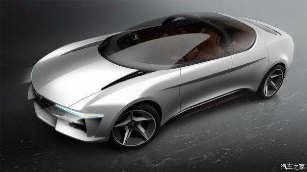 玻璃车顶Giugiaro Sybilla概念车官图 会搭载较高等级的自动驾驶系统