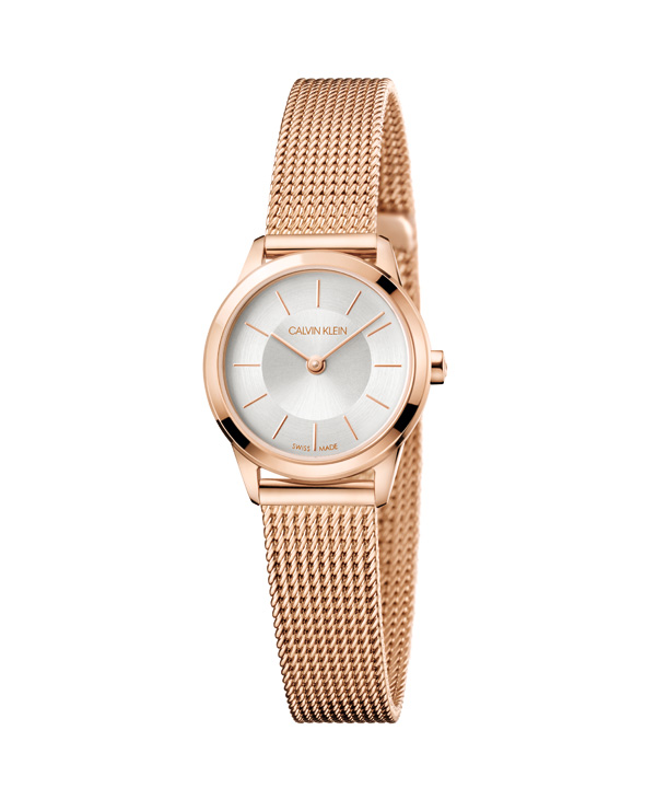 CALVIN KLEIN推出2018款简约系列腕表