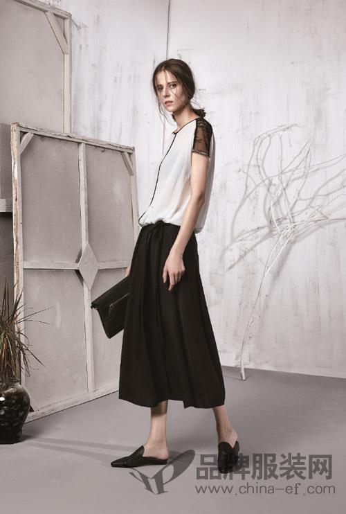 凯伦诗品牌女装 2018春新品上市见证黑白优雅!