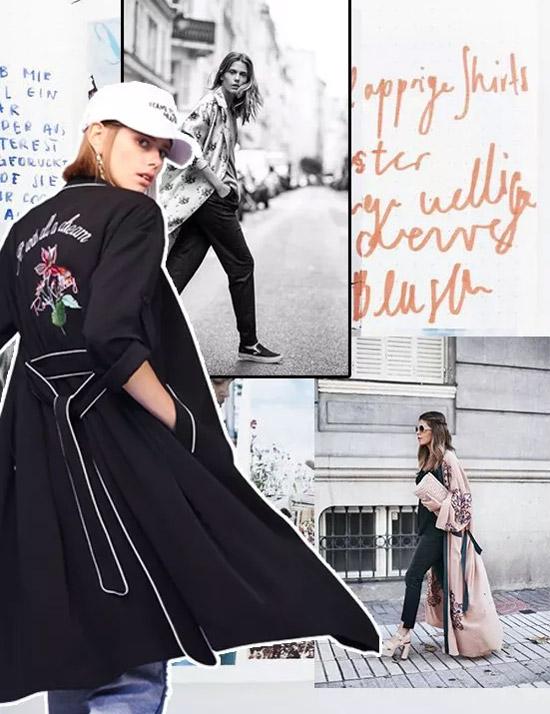 百图betu时尚女装 黑白两极色在时尚的视觉世界之间游走