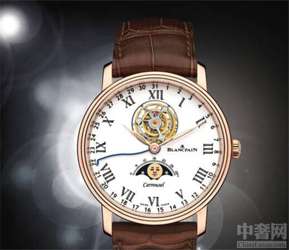 宝珀推出一款宝珀Villeret腕表 创造世界上第一枚卡罗素