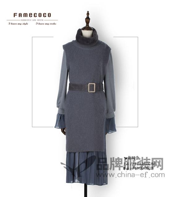 范可儿2018春季新品 FINCOCO美衣可以成套搭配