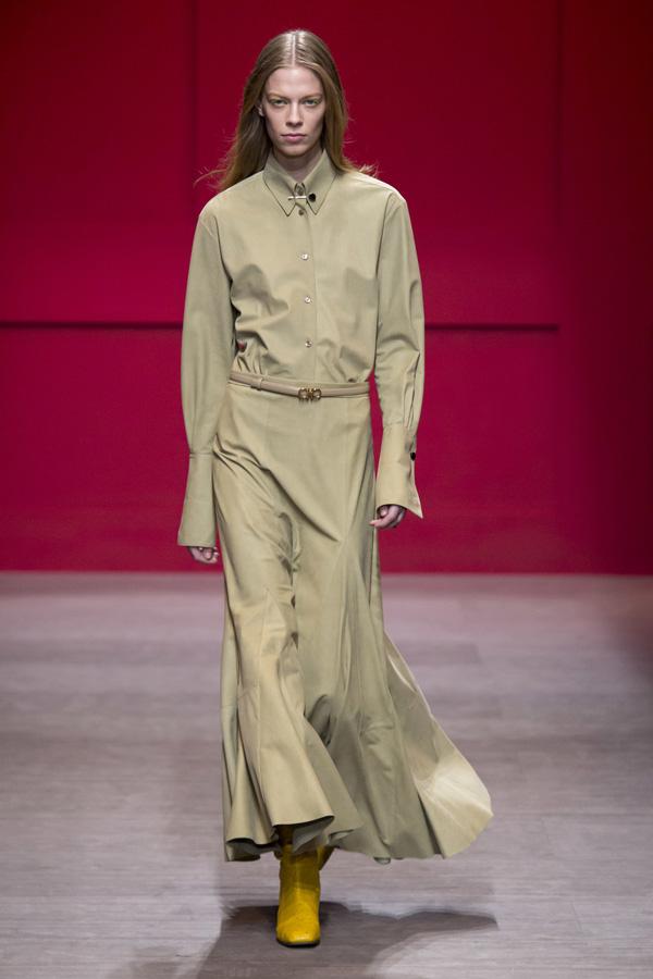 Salvatore Ferragamo(菲拉格慕)于米兰时装周发布2018秋冬系列高级成衣
