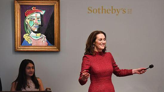 伦敦苏富比印象派和现代艺术晚拍收获11.83亿