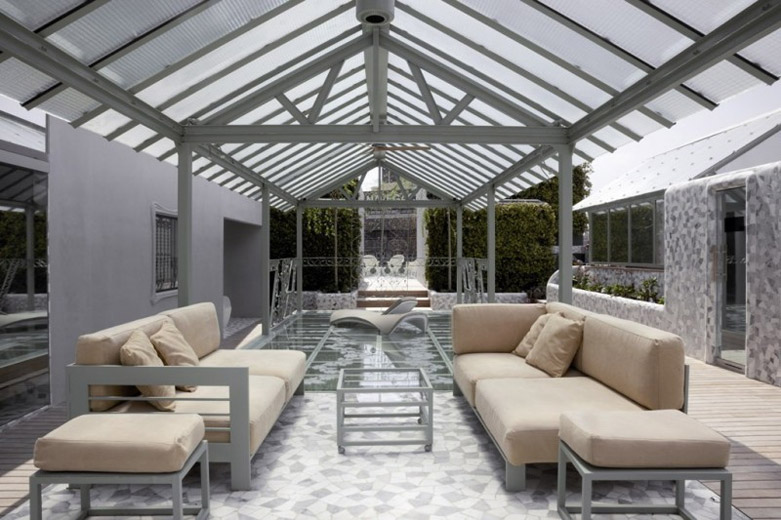El Palauet Living豪宅:现代舒适的设计风格清新简约的室内装饰