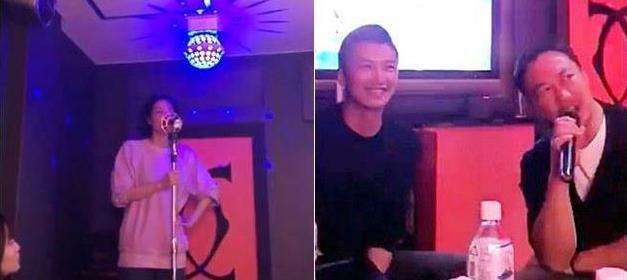 谢霆锋王菲现身KTV欢唱 谢霆锋看王菲的眼里都是爱