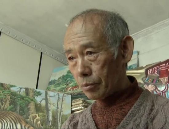 农民自学油画创作500余幅 油画作品被29个国家收藏
