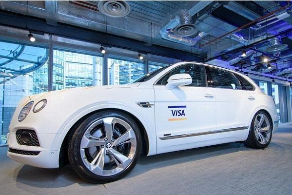 Visa推出车载支付应用 本田与宾利率先采用